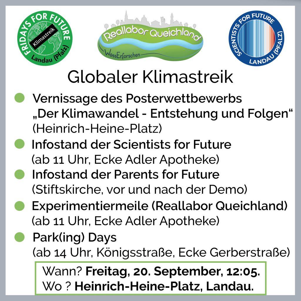 Globaler Klimastreik – Aktionen in Landau