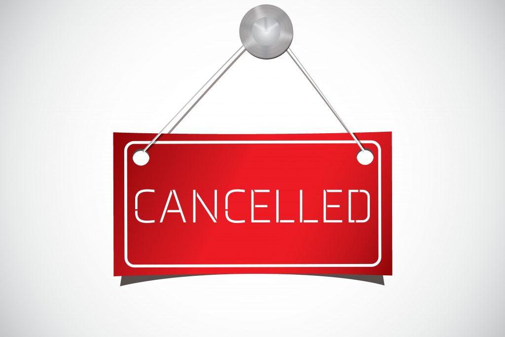 Bis 20.04. sind alle Veranstaltungen abgesagt