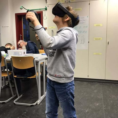 Das erste Mal virtuelle Realität ausprobieren