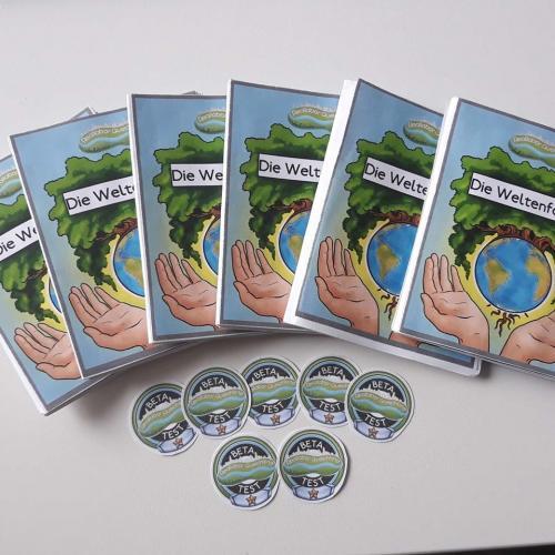 Reallabor Buch + Abzeichen
